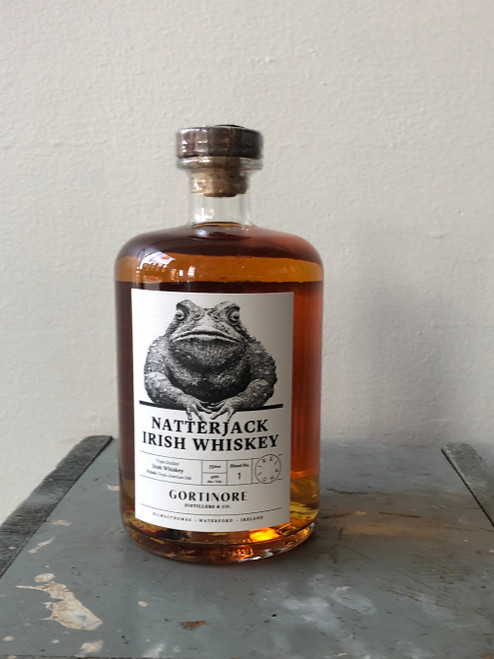 Gortinore Distillers & Co, Natterjack Irish Whiskey (NV)