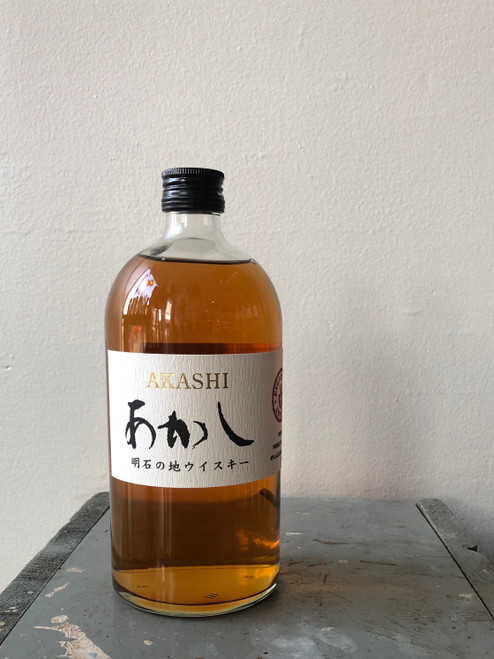 Akashi, White Oak Japanese Blended Whisky