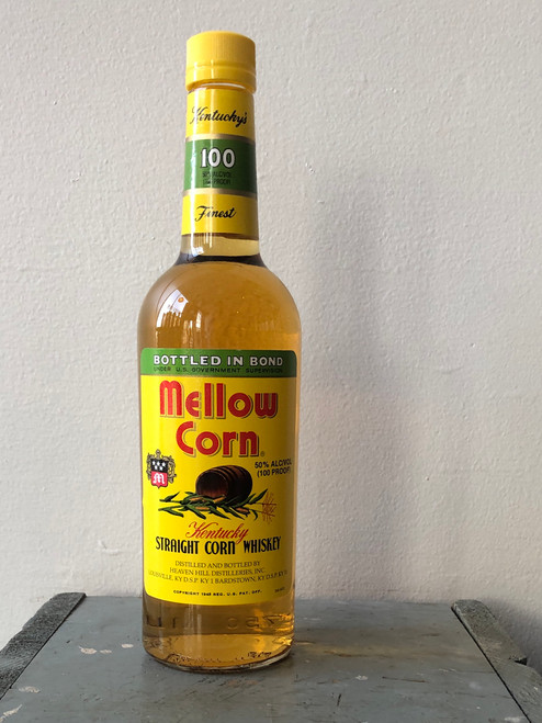 Mellow Corn, Straight Corn Whiskey Bottled In Bond