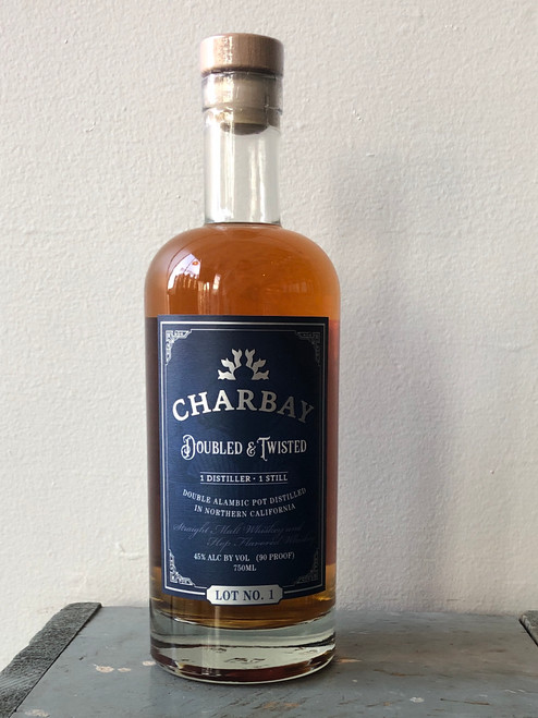 Charbay, Doubled & Twisted Lot No. 1 Straight Malt and Hop Flavored Whiskey (NV)