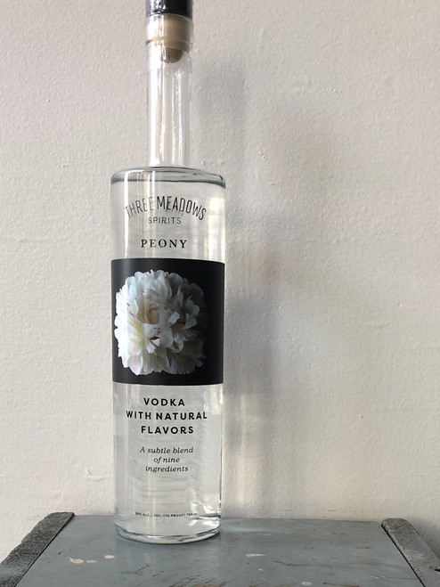 Three Meadows Spirits, Peony Vodka