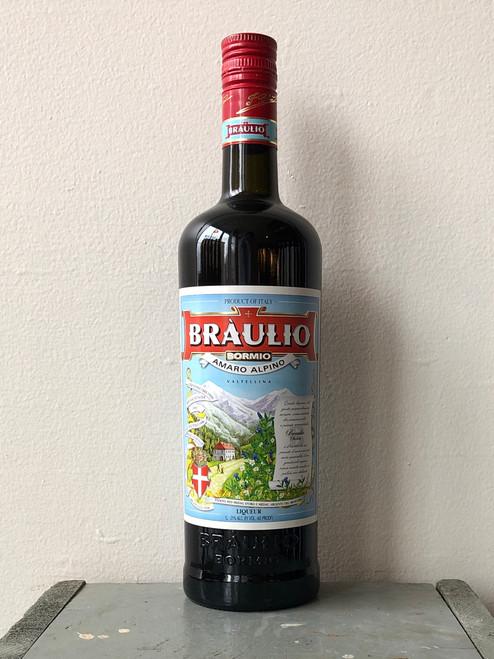 Braulio Liqueur Amaro Alpino