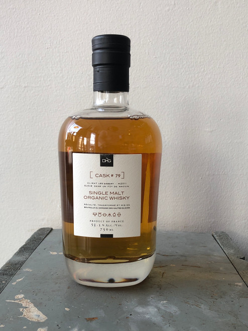 Domaine des Hautes Glaces, Single Malt Organic Whisky Cask #79 Aged in Macvin Barrel (NV)