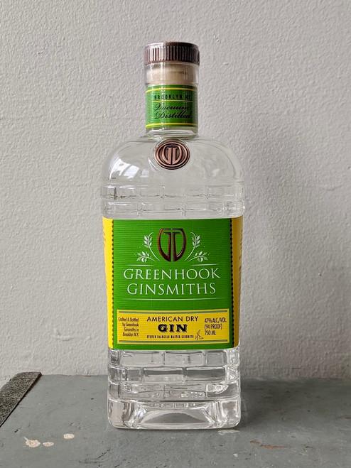 GreenHook Ginsmiths, American Dry Gin (NV)