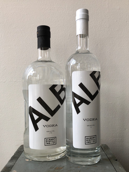 Albany Distilling Co., ALB Vodka (NV)