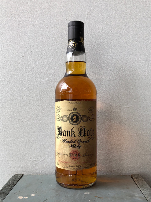 Bank Note 5 Year Old Blended Scotch