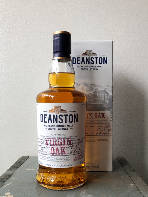 Deanston, Virgin Oak Highland Single Malt Scotch Whisky