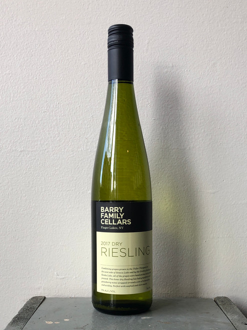 Barry Family Cellars, Dry Riesling Finger Lakes (2017)