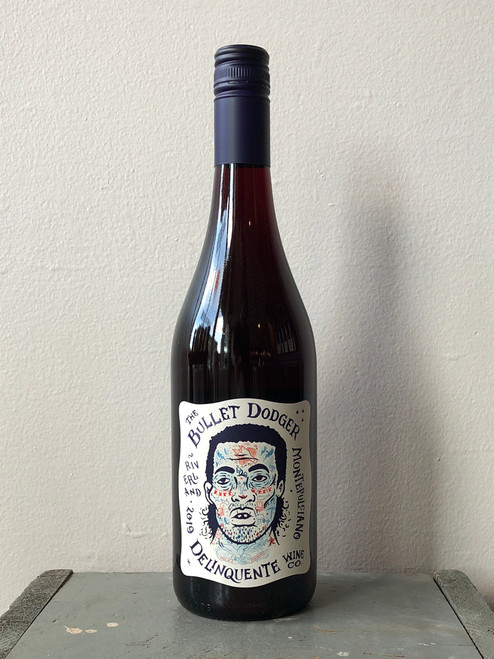 Delinquente Wine Co., Montepulciano The Bullet Dodger Riverland (2019)