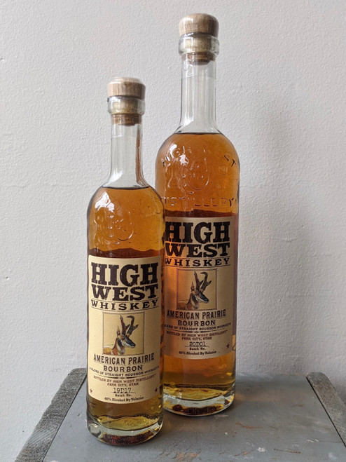 High West, American Prairie Bourbon Whiskey (NV)