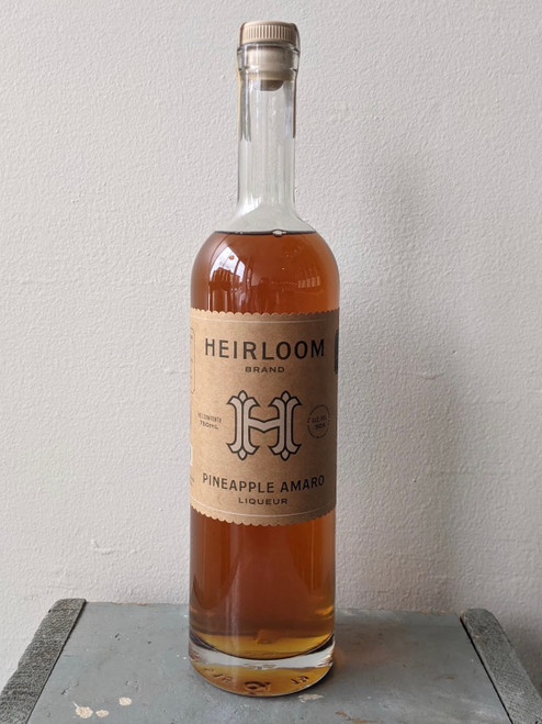 Heirloom Liqueurs, Pineapple Amaro Liqueur (NV)