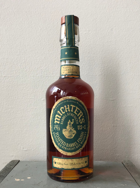 Michter's, US*1 Toasted Barrel Finish Kentucky Straight Rye Whiskey (NV)