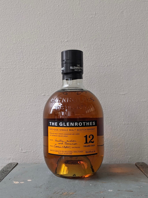 The Glenrothes, 12 Year Old Speyside Single Malt Scotch Whisky  (NV)