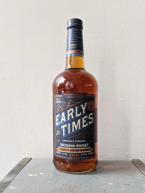 Early Times, Bottled-in-Bond Kentucky Straight Bourbon Whisky (NV) · 1 L