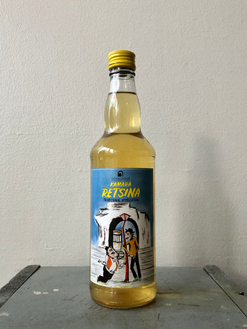 Kamara Kioutsouki Estate, Retsina (NV) · 500 mL