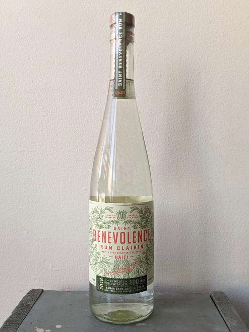 Saint Benevolence, Clairin Rum (NV)