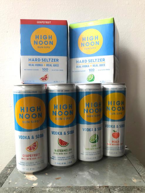 High Noon Vodka & Soda