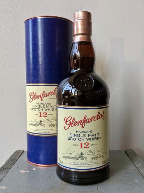 Glenfarclas, Highland Single Malt Scotch Whisky Aged 12 Years (NV)