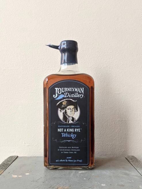 Journeyman Distillery, Not A King Rye Whiskey (NV)