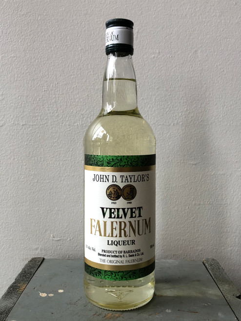 John D. Taylor's, Velvet Falernum Liqueur (NV)