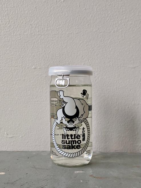 Oka Brewery, Little Sumo Chibi Zumo Junmai Genshu Sake · 200 mL cup