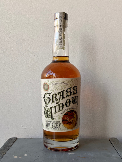 Two James, Grass Widow Straight Bourbon Whiskey (NV)