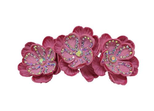 Trio Flower Clip