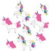 Rainbow and Pink Unicorns
