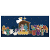Christmas Nativity 3 page backdrop