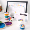 Rainbow Color University Party Pack