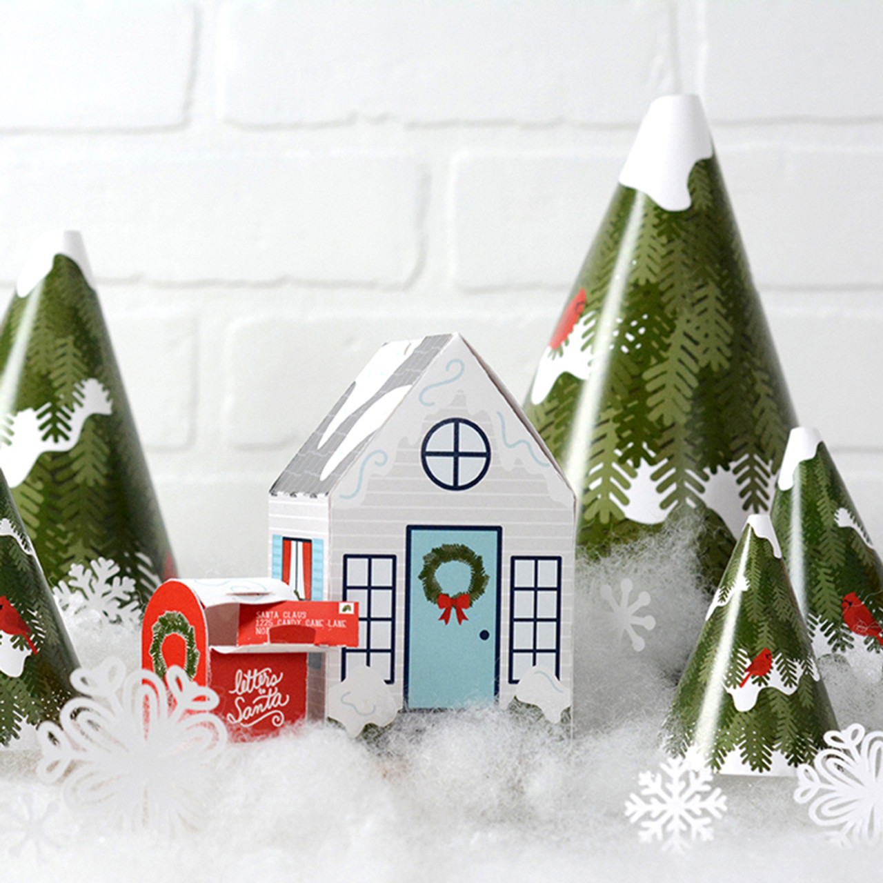 Christmas Village.Christmas Village Collection Download And Print