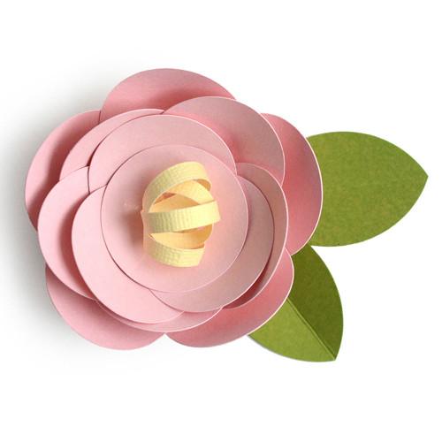 3D Flower Rose 2