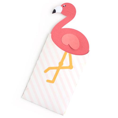 Flamingo Gift Card Envelope
