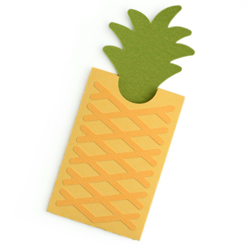 Pineapple Gift Card Envelope