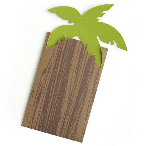 Palm Tree Gift Card Envelope