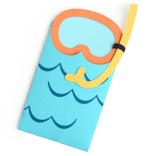 Snorkel Gift Card Envelope
