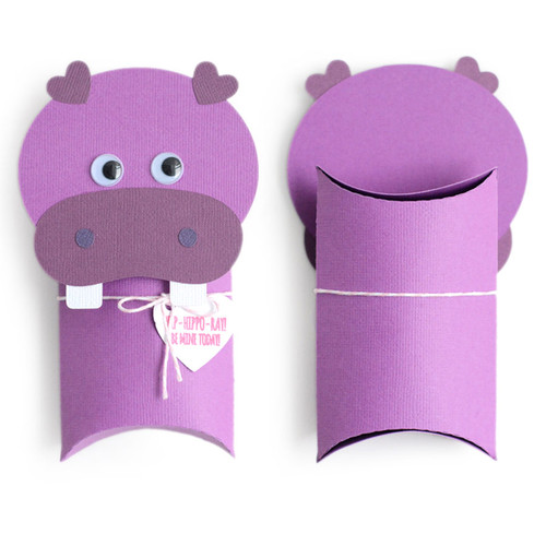 Pillow Box: Hippo