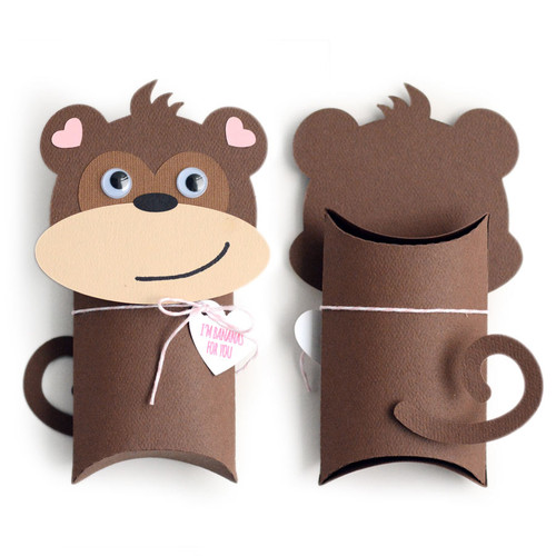 Pillow Box: Monkey