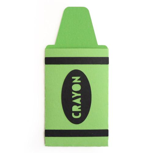 Crayon Gift Card Envelope