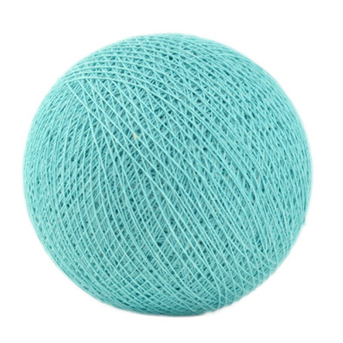 Decorative cotton ball lights that will add the perfect texture and accent to any indoor space or party.  This product contains four balls. Finish your custom strand of lights by adding 16 more balls (of an color) and a strand of lights to your cart.