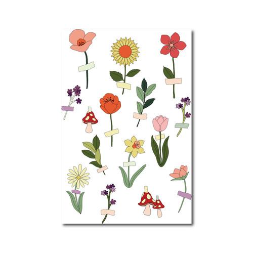 Flower Tape Poster