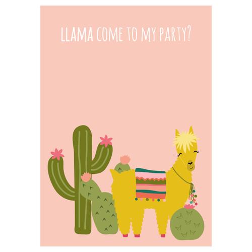 Llama Invitation