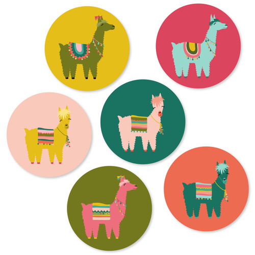 Llama Party Prints