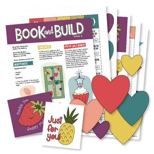 Book and Build Week 4 - Heartprints and Be Kind