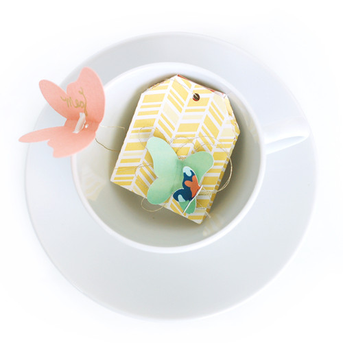 Tea Bag Place Card + Treat Bag