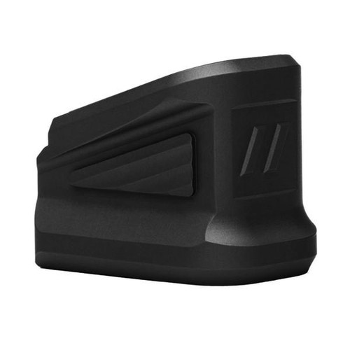 Zevtech Zev Technologies +5 +4 Extended Basepad for 9mm and .40cal Glock Full Size Frame Models G17 G34 G22 G35 anodized in Black