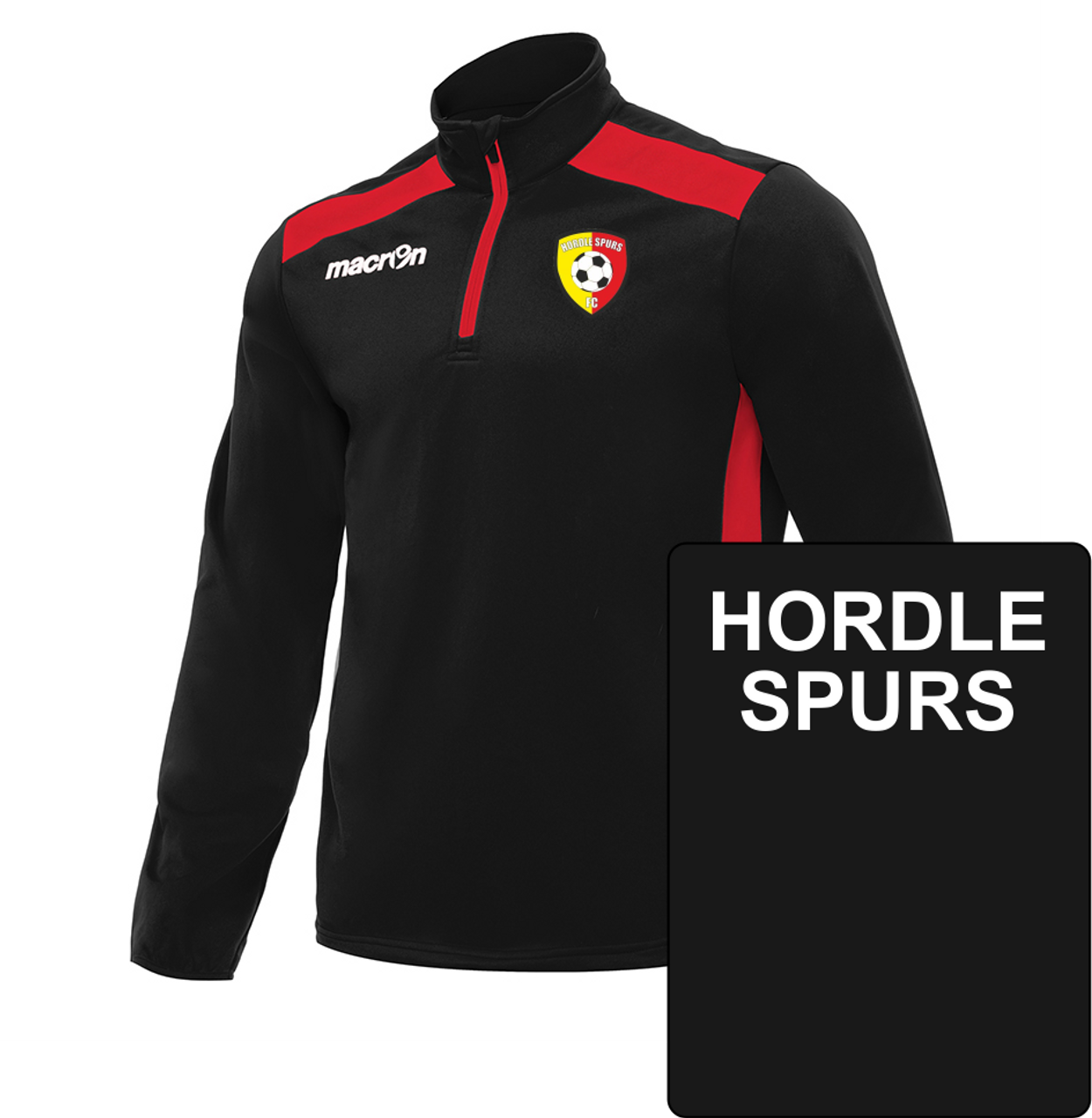 new product 5a984 0cb90 Hordle Spurs FC JNR 1/4 Zip Training Jersey
