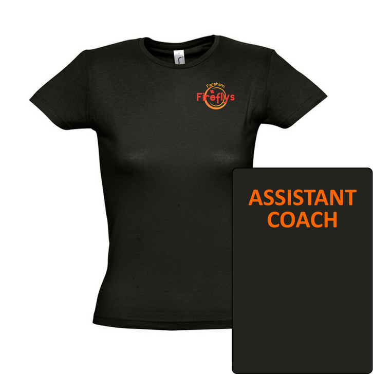Fareham Fireflys NC Assistant Coach Cotton T-Shirt