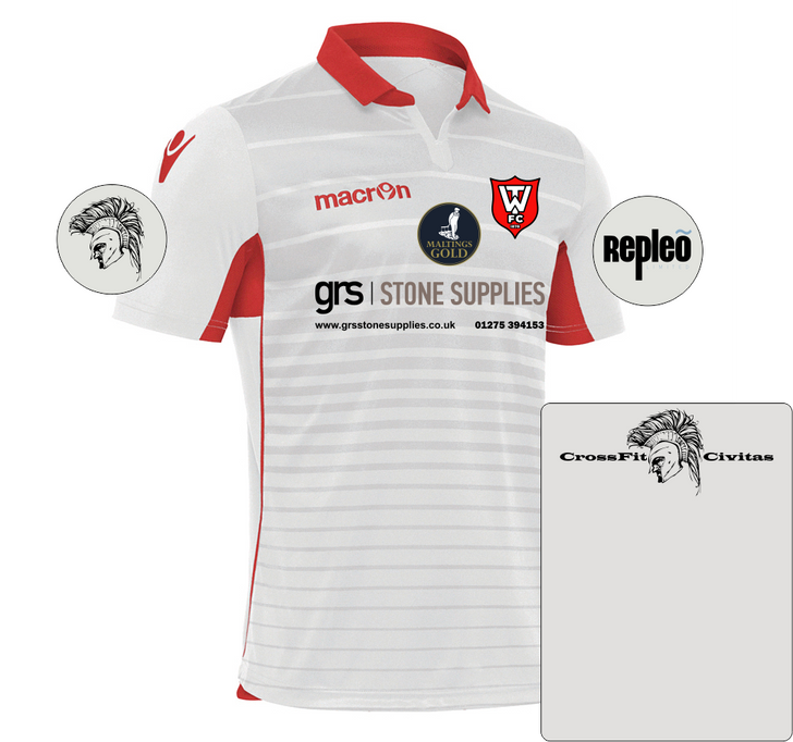 Warminster Town FC SNR Away Shirt