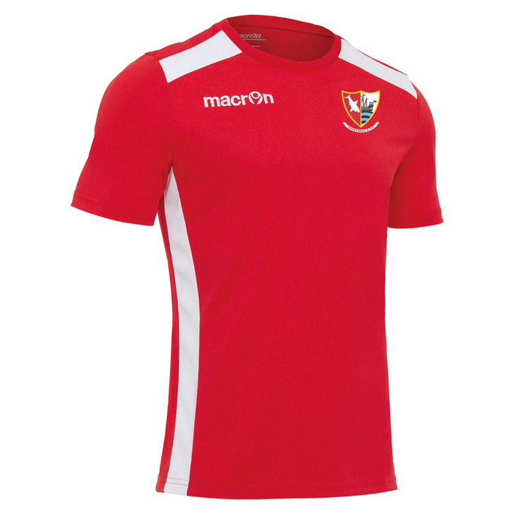 Sharpness AFC JNR Red/White Training T-Shirt